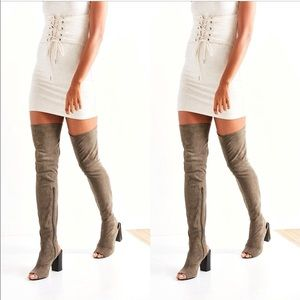 Jeffrey Campbell Capricorn Over-the-Knee Boot 8 🆕